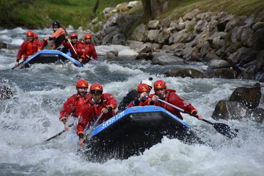 Rafting Extreme sul fiume Noce in Val di Sole con Ursus Adventures