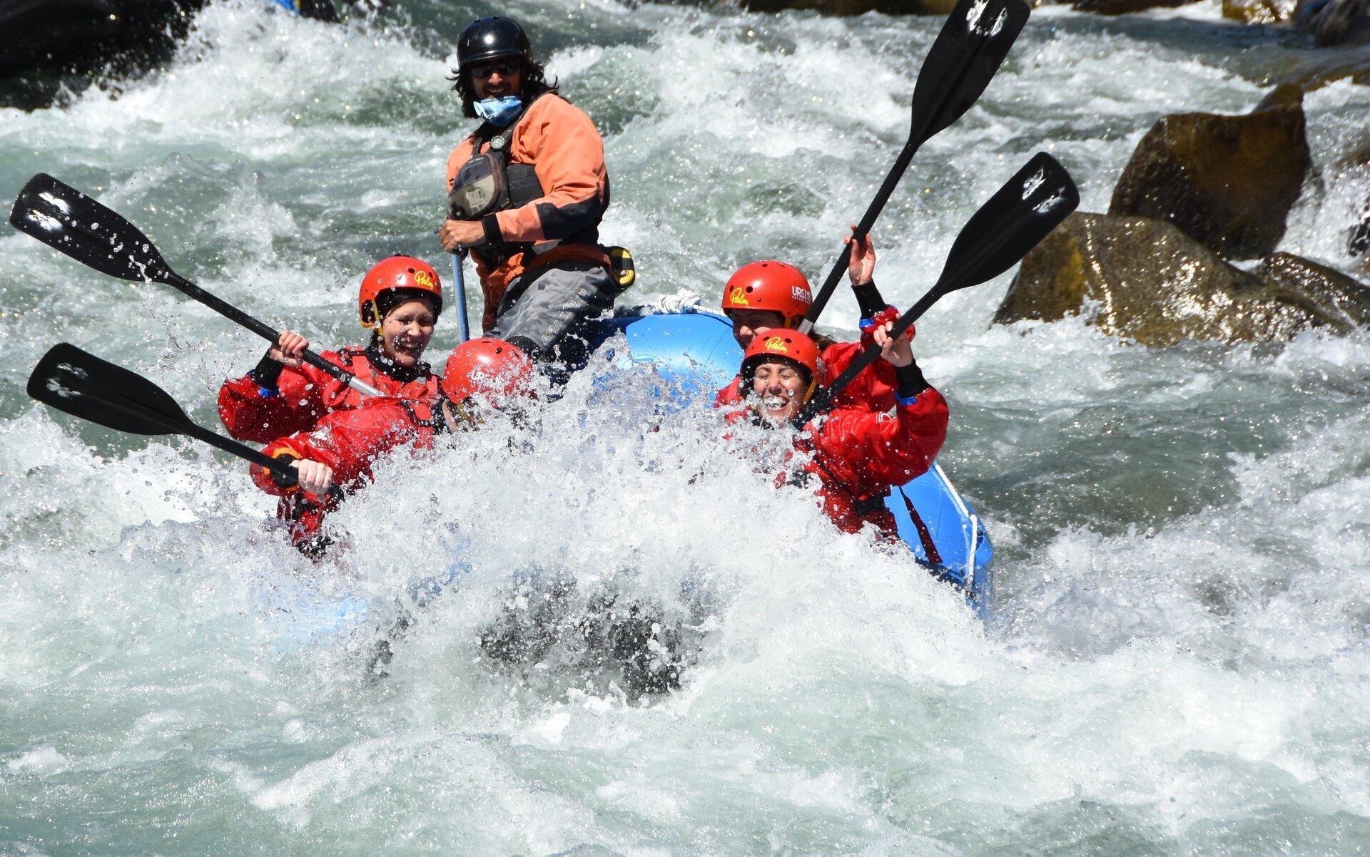 addio al nubilato rafting in Val di Sole Trentino con Ursus Adventures