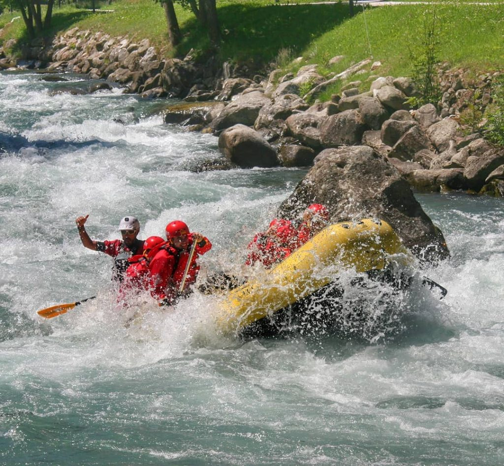 Rafting Extreme in Val di Sole