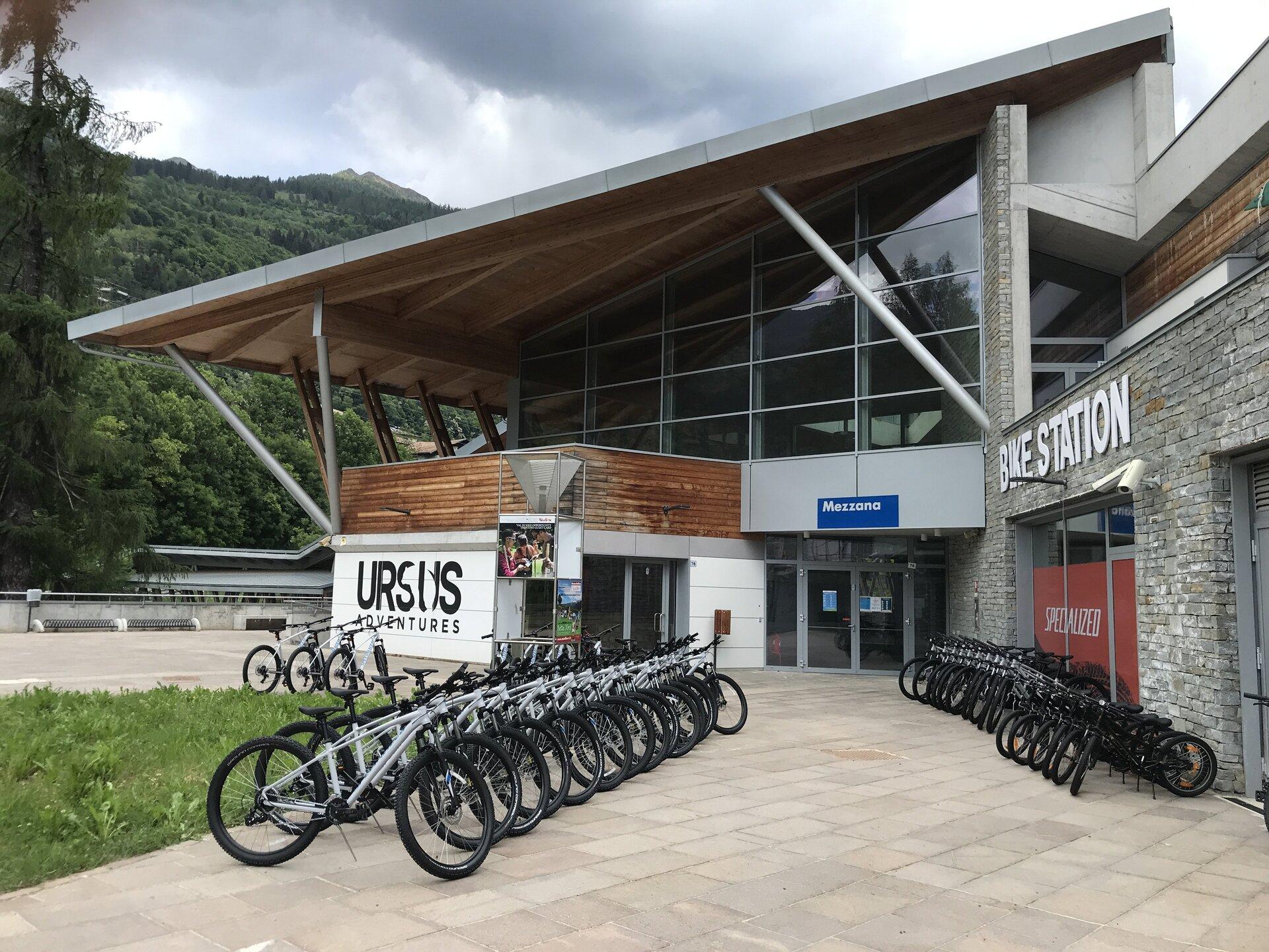 Noleggio Bike station Mezzana Val di Sole