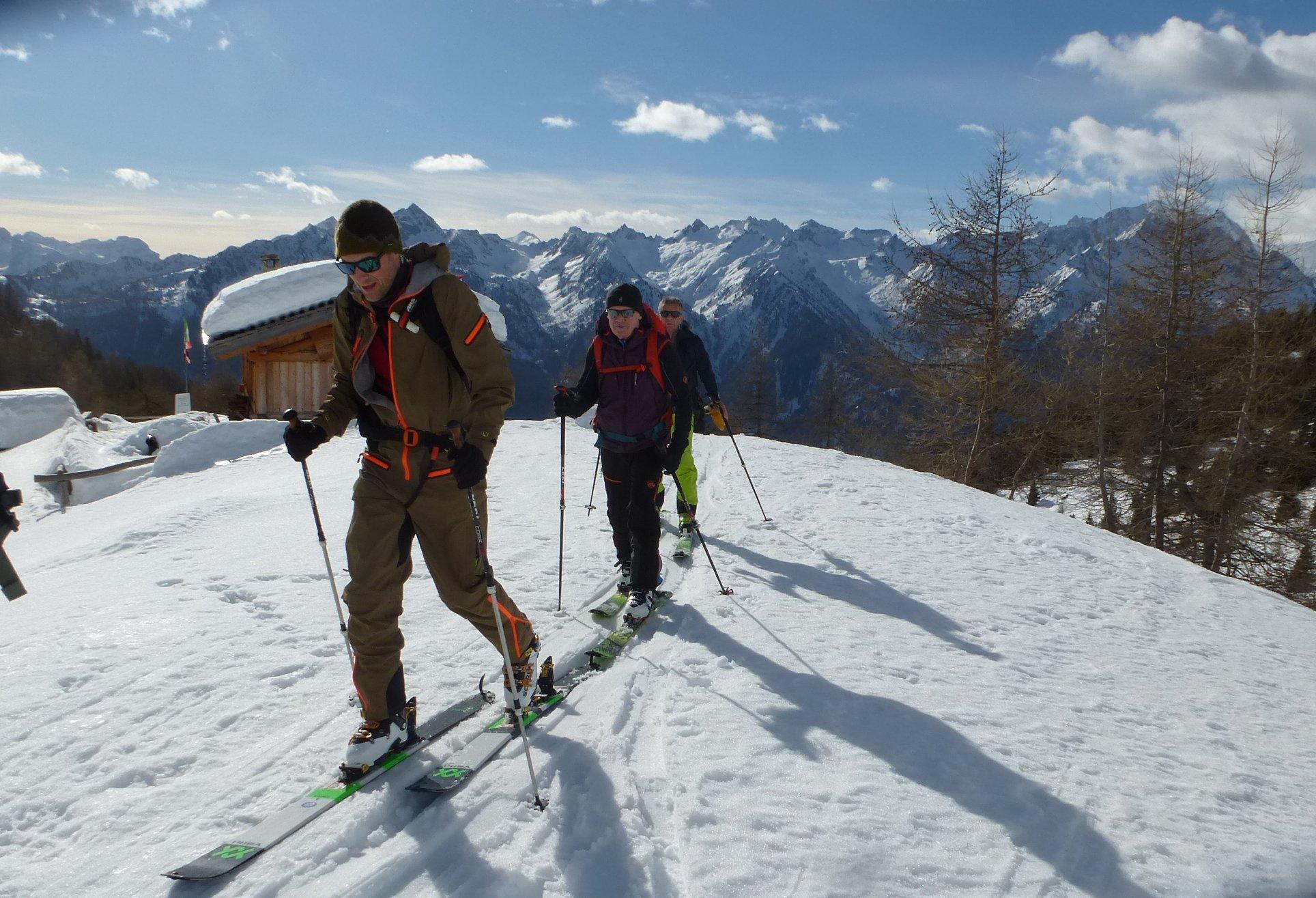 Ski alp in Trentino